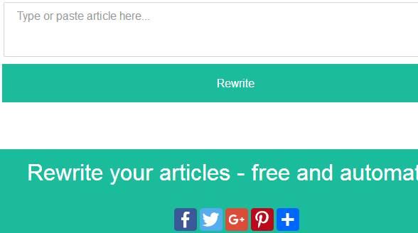 Article Rewriter Script  Small Php Scripts Article Rewriter Script