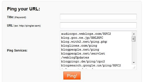 Blog Ping Service Script | Small PHP Scripts