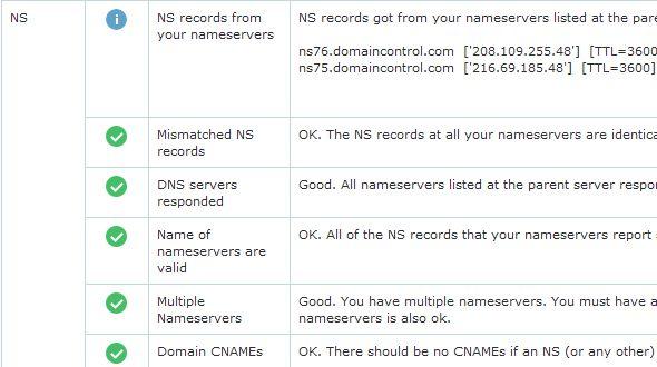 Domain Dns Health Check Script | Small PHP Scripts