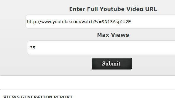 Youtube Automatic Views Generator Script | Small PHP Scripts